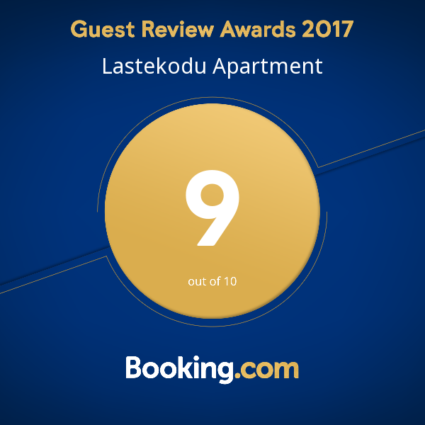Lastekodu Apartment | Guest Review Award 2017